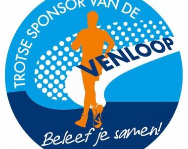Trotse sponsor van de Venloop