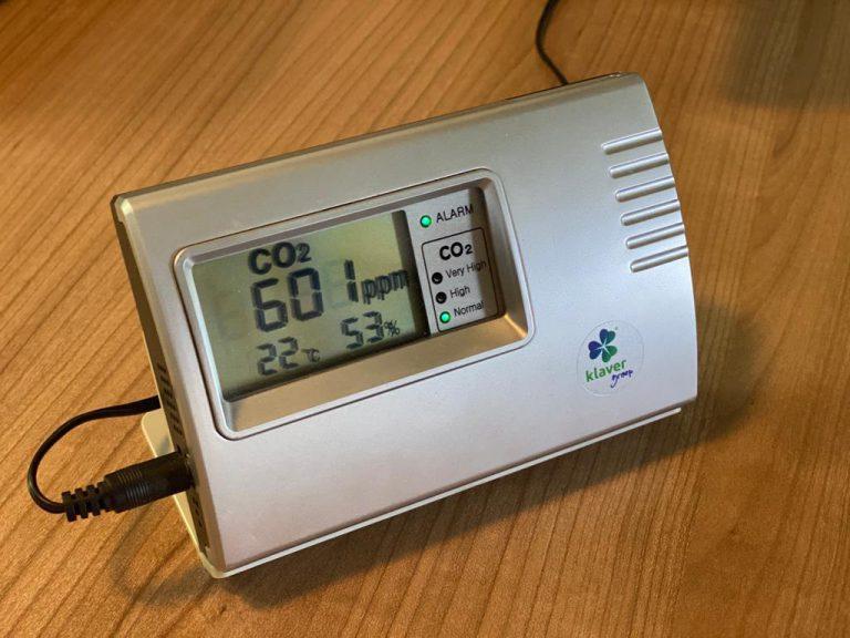 In de verkoop: CO2-meter meet je luchtkwaliteit